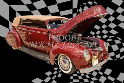1939 Ford 4 Door Deluxe Convertible 5542.03