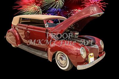 1939 Ford 4 Door Deluxe Convertible 5542.04