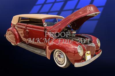 1939 Ford 4 Door Deluxe Convertible 5542.08