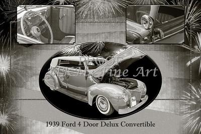 1939 Ford 4 Door Deluxe Convertible 5542.51