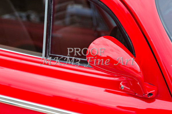 1940 Chevrolet Master Classic Mirror  Color Red  3113.02