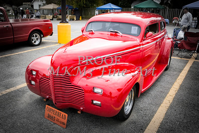 1940 Chevrolet Master Deluxe Classic Car Automobile Color Red  3110.02