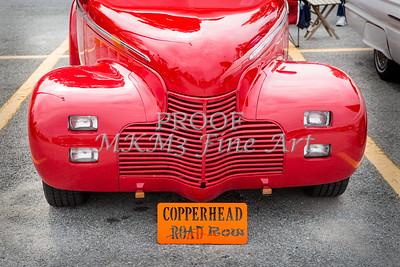 1940 Chevrolet Master Classic Car Automobile Front End Color  3111.02