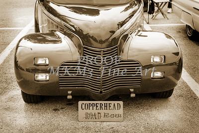 1940 Chevrolet Master Classic Car Automobile Front End Sepia  3111.01