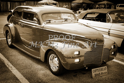 1940 Chevrolet Master Classic  Side View Sepia  3112.01