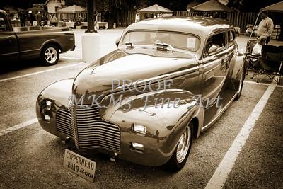 1940 Chevrolet Master Fine Art Classic Car Automobile Sepia  3110.01