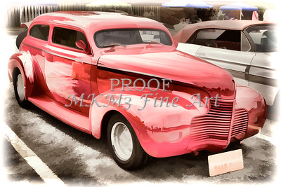 1940 Chevrolet Master Classic Painting  Color Red  3112.03