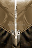 1940 Ford Pickup Truck Emblem Car or Automobile in Sepia  3136.01