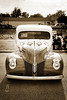 1940 Ford Pickup Truck Front End Car or Automobile in Sepia  3135.01