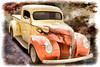 1940 Ford Pickup Truck Painting Car or Automobile in Color  3133.02
