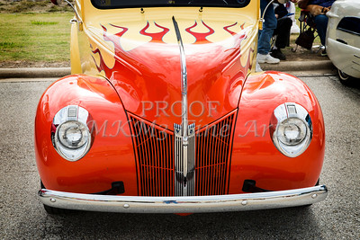 1940 Ford Pickup Truck Front End Car or Automobile in Color  3134.02