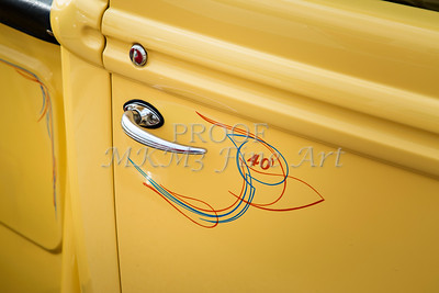 1940 Ford Pickup Truck Door Handle Car or Automobile in Color  3139.02