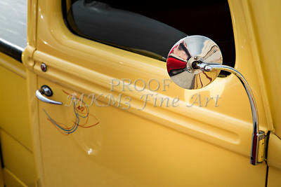 1940 Ford Pickup Truck Mirror Car or Automobile in Color  3138.02