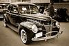 1940 Ford antique automobile 0r Classic car Photograph in sepia 3189.01