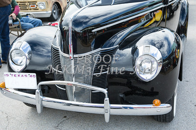 1940 Ford Classic car front front end and grill Photograph in color 3193.02