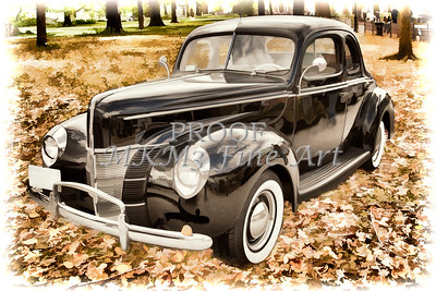 1940 Ford antique automobile 0r Classic Cars Photographs