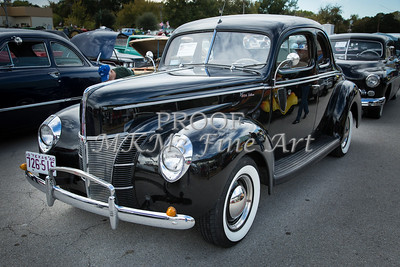 1940 Ford Classic car or antique automobile Photograph in Color 3188.02