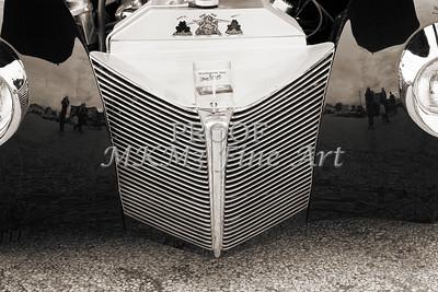 1940 Mercury Convertible Vintage Classic Car Photograph 5216.01