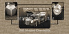 1940 Mercury Convertible Vintage Classic Car Painting 5237.01
