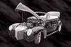 1940 Mercury Convertible Vintage Classic Car Photograph 5212.01