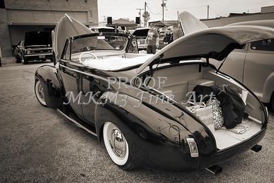 1940 Mercury Convertible Vintage Classic Car Photograph 5217.01