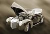 1940 Mercury Convertible Vintage Classic Car Photograph 5211.01