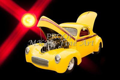 1941 Willys Coope Classic Car Photograph Color 1215.02