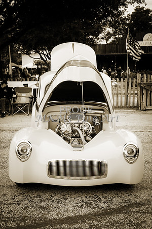 1941 Willys Coope Classic Car Photograph 1231.01