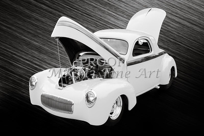 1941 Willys Coope Classic Car Photograph 1225.01