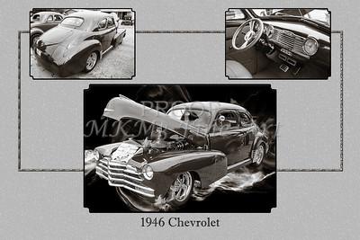 1946 Chevrolet Classic Car Photograph 6772.01