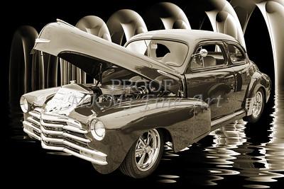 1946 Chevrolet Classic Car Photograph 6770.01