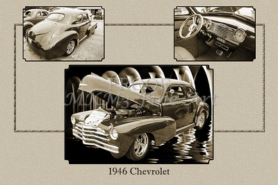 1946 Chevrolet Classic Car Photograph 6773.01