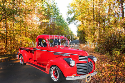 1946 GMC Pickup Truck Photograph Print by M K Miller