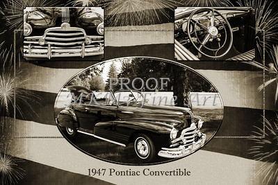 1947 Pontiac Convertible Photograph 5544.50