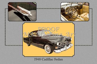 1948 Cadillac Sedan Classic Car Photograph 6723.02