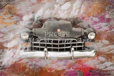 1948 Cadillac Sedan Classic Car Photograph 5708.02
