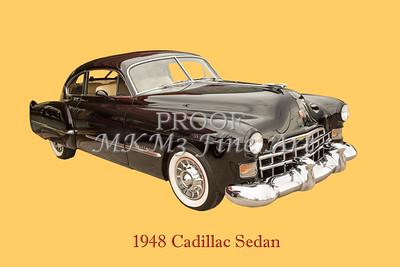 1948 Cadillac Sedan Classic Car Photograph 6722.02
