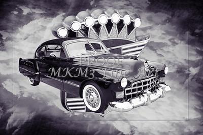 1948 Cadillac Sedan Classic Car Photograph 6707.01