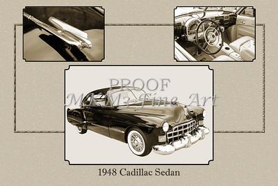 1948 Cadillac Sedan Classic Car Photograph 6723.01