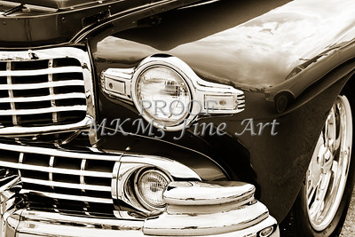 1948 Lincoln Continental Car or Automobile Front Fender in Sepia  3153.01