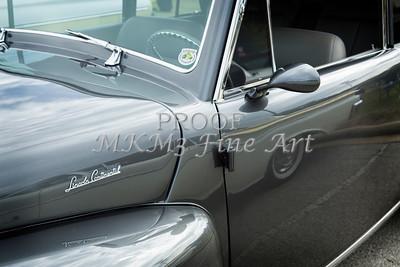 1948 Lincoln Continental Car or Automobile Door in Color  3157.02
