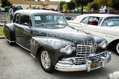 1948 Lincoln Continental Car or Automobile Complete in Color  3155.02