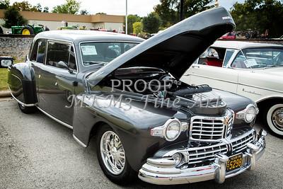 1948 Lincoln Continental Car or Automobile in Color  3142.03