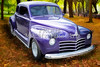 Color Painting of a Complete 1948 Plymouth Classic Car 3389.02