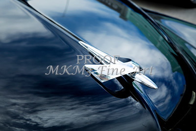 1949 Mercury Classic Car Hood Ornament in Color 3191.02