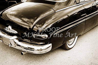 1949 Mercury Classic Car Trunk and Tail lights in Sepia 3200.01