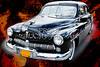 1949 Mercury Classic Car in Color Painting 3194.02