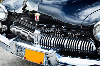 Front End 1949 Mercury Classic Car in Color 3196.02