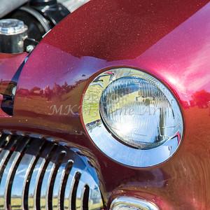 1949 Mercury Coupe Head Light Color 3039.02