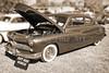 1949 Mercury Coupe in  Sepia Color 3036.01